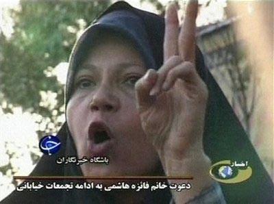 رپرتاژ ويژه بيبيسي براي «فائزه هاشمي»