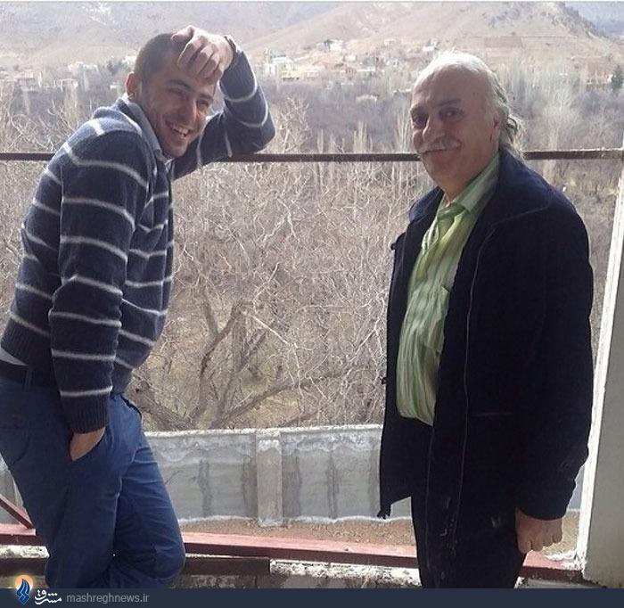 علی ضیا و پدرش