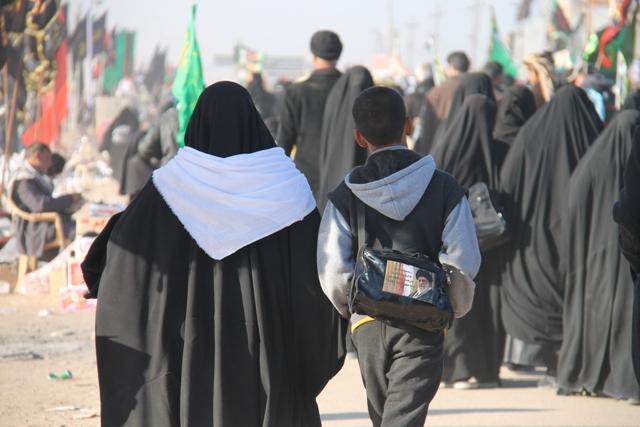 تصاویر امام خامنهای در پیادهروی اربعین