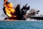 ارتش یمن ششمین کشتی جنگی ائتلاف سعودی را منهدم کرد